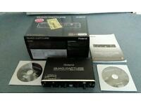 Roland quad capture audio interface, boxed, unmarked, little use