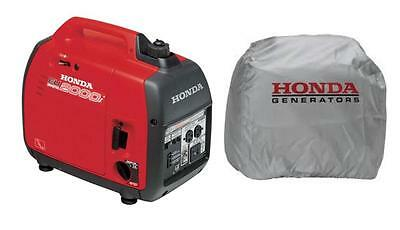New Honda EU2000i 2000 Watt Inverter Generator - Free Silver OEM Cover