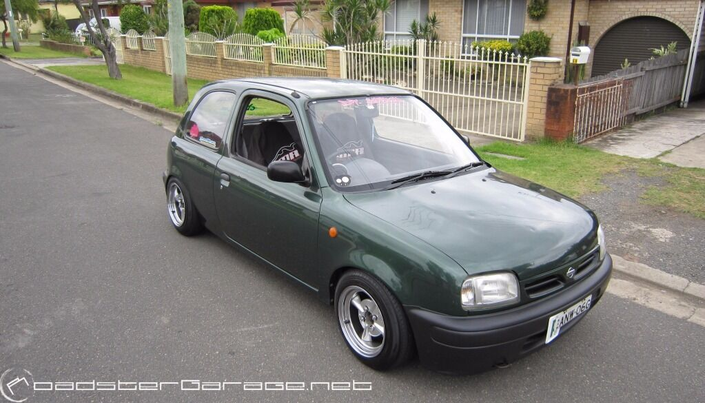 Nissan Micra K11 Dark Green Breaking All Parts Avaliable