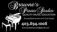 Browne's Piano Studio