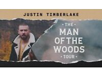 Justin Timberlake Concert Tickets, London O2 - 11th July