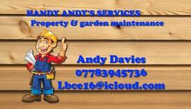 Handy Andy's services