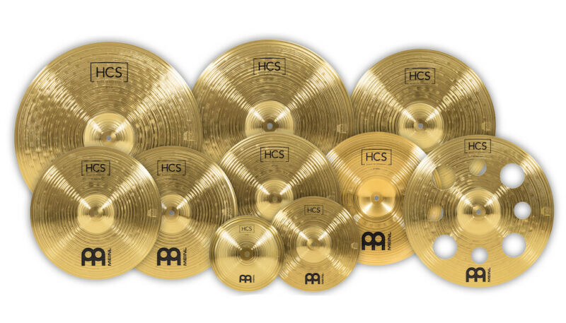 Meinl HCS Ultimate Cymbal Set - With Extras!