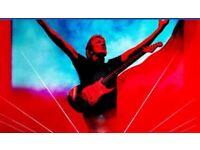 Roger Waters Sat 30th June Floor Seat