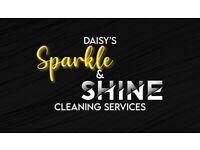 Daisy's sparkle & sponge cleaner service