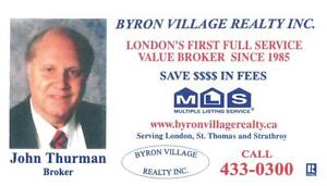 3.5 % MLS FEE FULL SERVICE 570 PROUDFOOT  SOLD SOLD London Ontario image 9