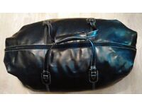 Expensive Black Large Next Signature Duffel Travel Gym Weekender Holdall Bag.