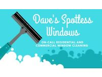 WINDOW CLEANER(friendly, professional and reliable)