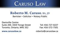 Lawyer, Notary Public - Midtown Toronto