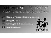 Michael aupy personal training and boxing fitness