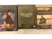3 brand new sealed dvd sets