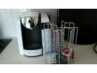 bosch tassimo coffee machine.excellent condition. just needs a descaling disc £2, on ebay