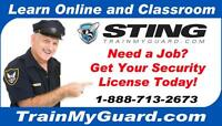 **Gov't Approved Security Training (ABST) and Employment***