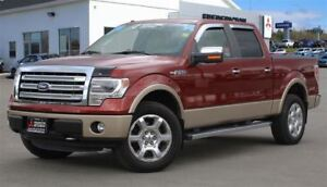 2014 Ford F-150 LARIAT! REDUCED! CREW! LEATHER! SUNROOF! NAV!