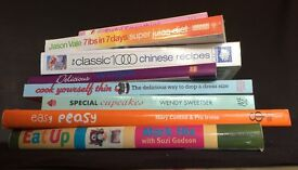 8 cookery books