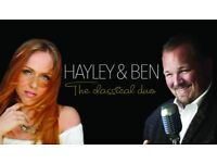 HAYLEY MOSS & BEN LAKE LIVE IN CONCERT: Holiday Inn Norwich North
