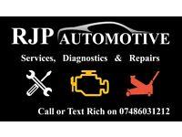 RJP Automotive - Services, Diagnostics and repairs