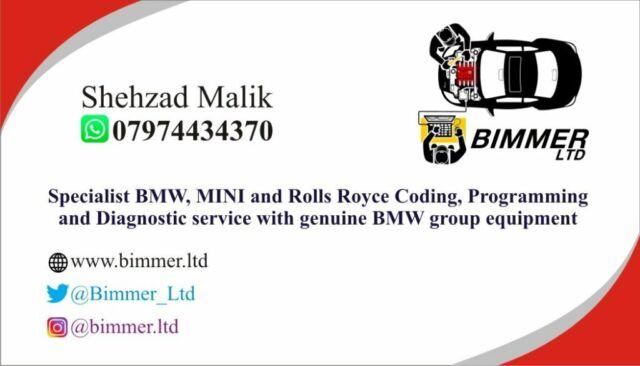 BMW & MINI Coding, Programming and Diagnostic Service - London   in