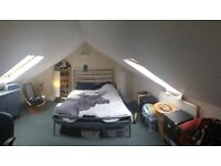 DOUBLE ATTIC ROOM TO RENT NEAR NORTH STREET - 1ST MARCH
