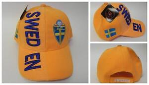 New, FIFA Soccer World Cup Hat Cap, Adjustable One Size Sweden