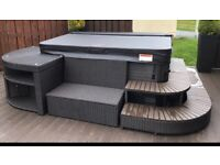 Hot tub furniture set (hot tub not included)