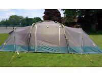 Khyam Tourer 400 Family Tent - Fast Assembly