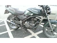 Kawasaki ER5 12 months MOT