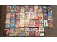 Large Collection of VHS'