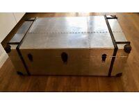 Aluminium Trunk / Coffee Table