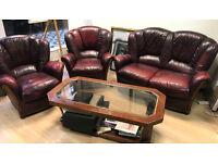 Set Of Sofa, leather sofa , Sofa and armchair