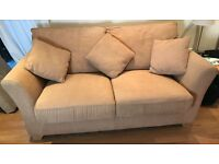 2 Sofas + 1 double bed for sale - together or separately