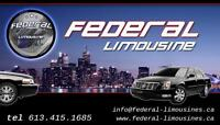 Federal  Limousine has earned the confidence of our clients