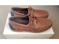 New Quality Onfire bi-colour Boat shoes. Very comfortable