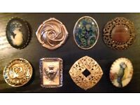 8 Assorted Scarf Rings (no.2)