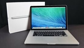 Apple MacBook Pro 15 inch *RETINA DISPLAY*Core i7 2.4 Ghz 8gb Ram 256 SSD LogicProX Adobe Final Cut
