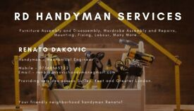 Handyman Services Around Surrey, Kent and Greater London