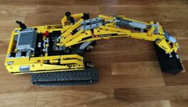 LEGO Technic 8043 Excavator Excellent Condition with Instructions