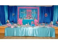 Party Decorator, Children's theme party decorator, Events organiser, Personalised birthday cake