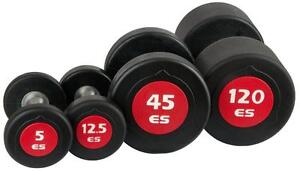 NEW eSPORT URETHANE  PROFESSIONAL CLUB DUMBELLS/BARBELS