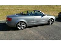 For sale Audi a4 convertible 53 plate
