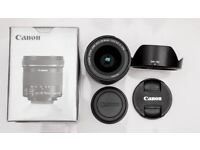 Canon lens EF-S 10-18mm IS STM in mint Condition check pictures Black