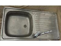 sink In silver