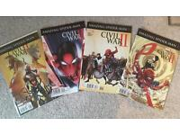 Amazing Spider-Man 1-4 Civil War 2 II Mini Series