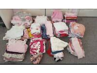 Baby girls clothes bundle. New born to 12 months