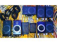 7 High Quality CREATIVE LABS satellites. 140W total. Excellent condition. All fully working