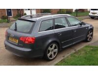 Audi A4 estate 2.0tdi Auto sline spares or repair