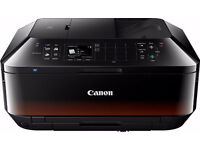 NEW CANON MX 725 COLOUR MULTIFUNCTION PRINT COPY SCAN FAX WIRELESS 3 SETS OF INK INCLUDED LAPTOP PC