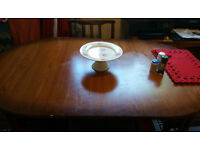 SOLID WOOD DINING TABLE EXTENDED WITH 4 CHAIRS + FREE DELIVERY