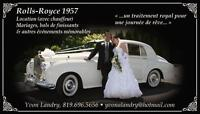 Location limousine antique Rolls-Royce 1957