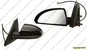 Door Mirror Power Driver Side Ptm With Textured Base Chevrolet Impala 2008-2013